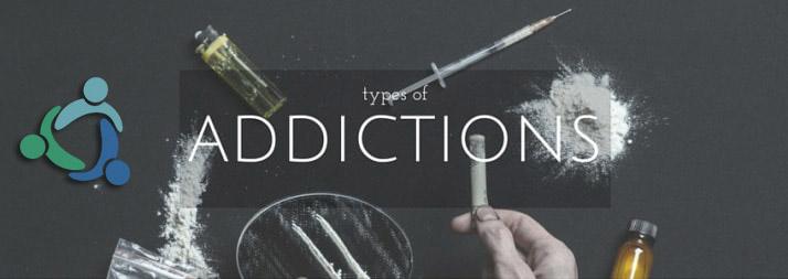انواع وابستگی به مواد مخدر